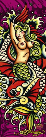 Mermaid - By Don Ed Hardy