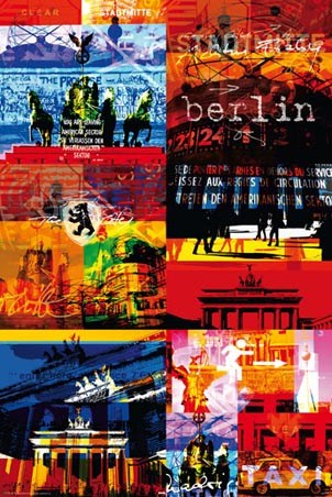 Funky Collage - Berlin