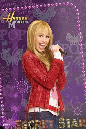 She's a Secret Star - Hannah Montana