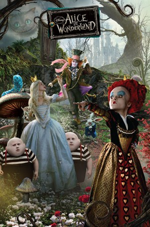 The Fantastical Characters of Wonderland - Tim Burton's Alice In Wonderland