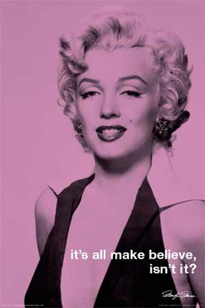 marilyn monroe quotes about beauty. Celebrity Quote Poster: Colour