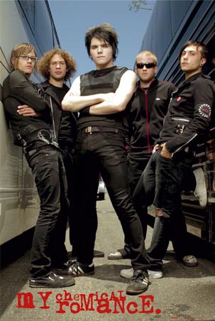 My Chemical Romance Lglp1013+group-portrait-my-chemical-romance-poster