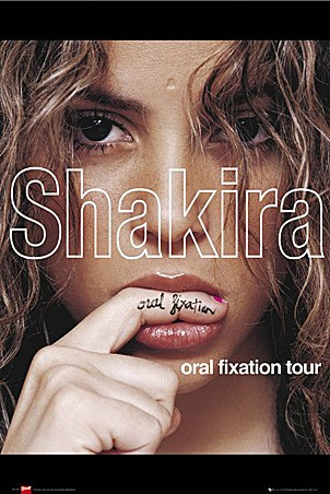 shakira laundry service album cover. Oral Fixation Tour - Shakira