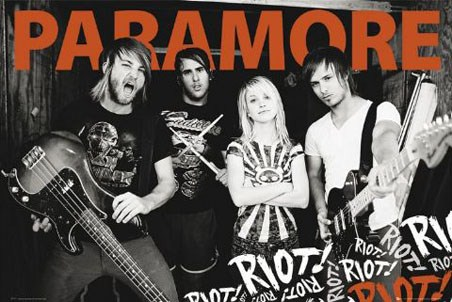 riot paramore. and second album #39;Riot!