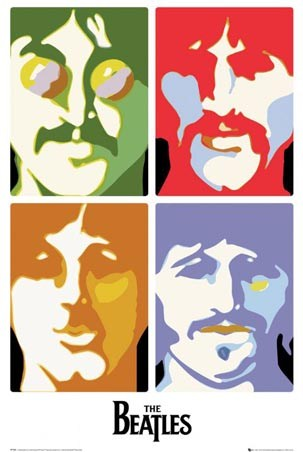 Sea of Science The Beatles Poster
