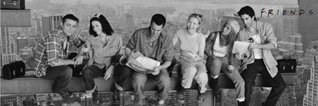 Lunch on a Girder - Friends