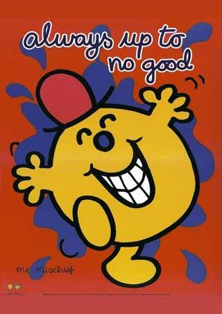 Mr Mischief, Always up to No Good Poster: 50cm x 40cm - Buy Online