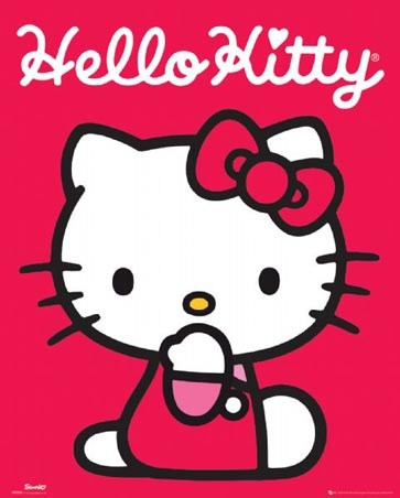 Poignantly Pink - Hello Kitty