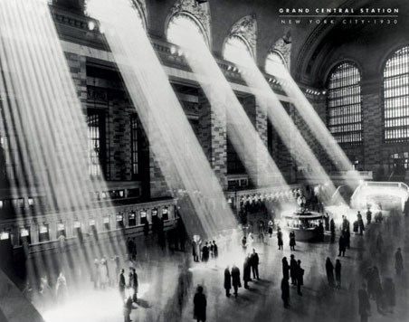 Beaux arts grand central station new york city 1930 the for Grand tableau new york