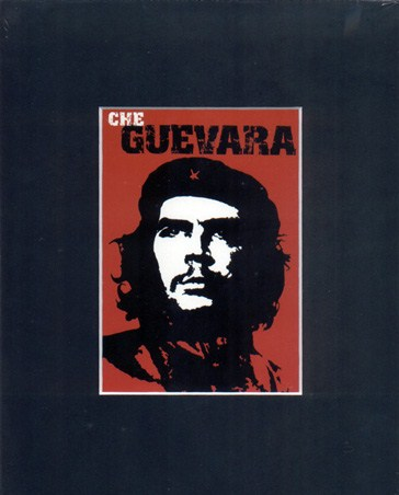 Red Che Guevara - Revolutionary Icon Matted Print