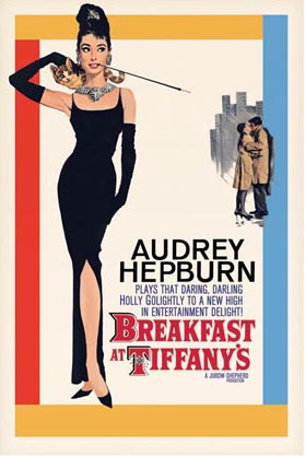 Audrey Hepburn in Breakfast at Tiffany's, Breakfast At Tiffany's ...