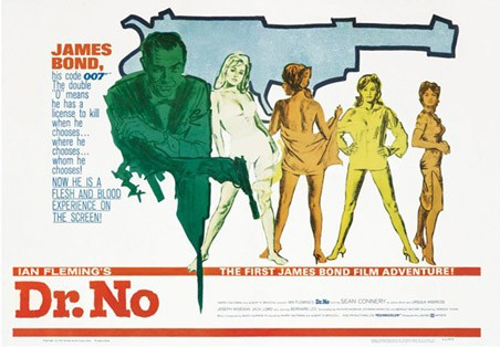 Sean Connery stars in Dr. No - Ian Fleming's James Bond