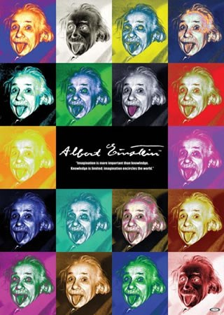 Einstein Pop Art - Albert Einstein