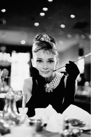 Audrey Hepburn is Holly Golightly - Breakfast at Tiffany's