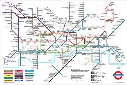 London Underground Map - London Underground
