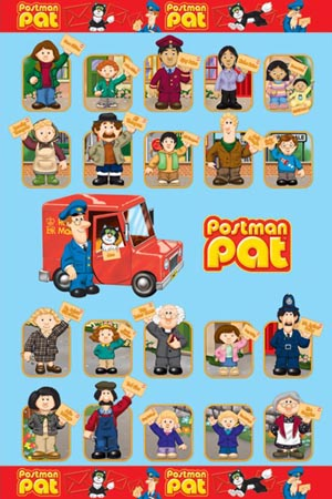 Postman Pat Car. Postman Pat and Friends