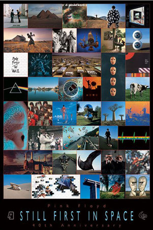 Pink Floyd: Still First in Space - 40th Anniversar Pink Floyd Poster