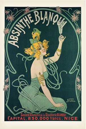 Poster  on Absinthe Blanqui  Advertising Art Poster  91 5cm X 61cm   Buy Online