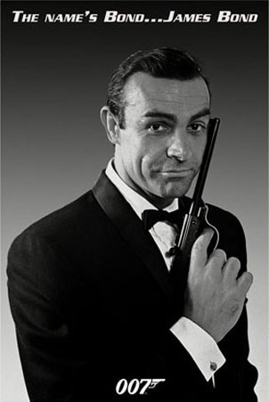 Sean Connery is James Bond - The Name's Bond... James Bond.