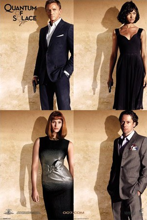 Bond Stars - Quantum Of Solace