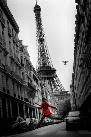 La Veste Rouge - Paris Photography