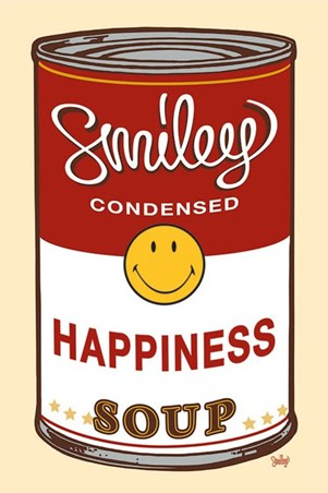 Happiness Soup - Pop Art Homage