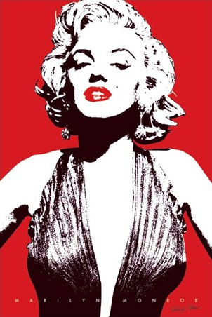 Pop Art Screen Icon - Marilyn Monroe