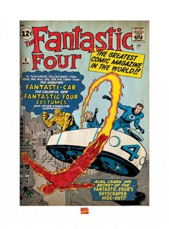 The Fantastic Four - Marvel Comics Art