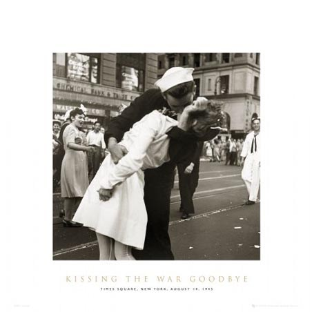 Kissing War Goodbye - Black and White Love