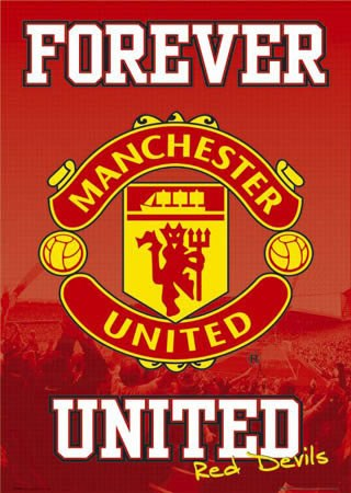 hi all - Page 2 Lgsp0268+forever-united-man-utd-fc-club-badge-manchester-united-football-club-poster
