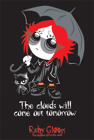 The Clouds, Ruby Gloom Poster: 91.5cm x 61cm - Buy Online
