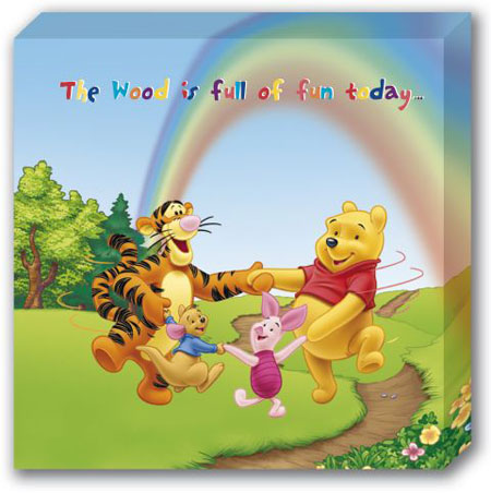 pooh and friend