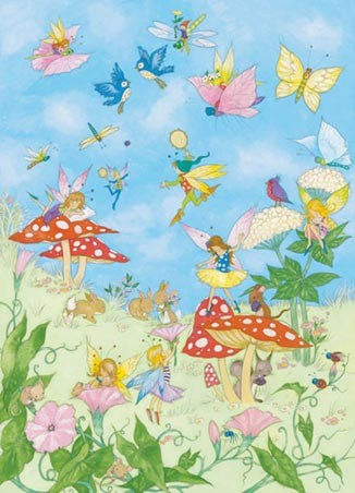 Fairy Tales by Annabel Spenceley - Art 4 Sheet Wall Mural