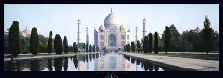 Taj Mahal, India - Bronsteen