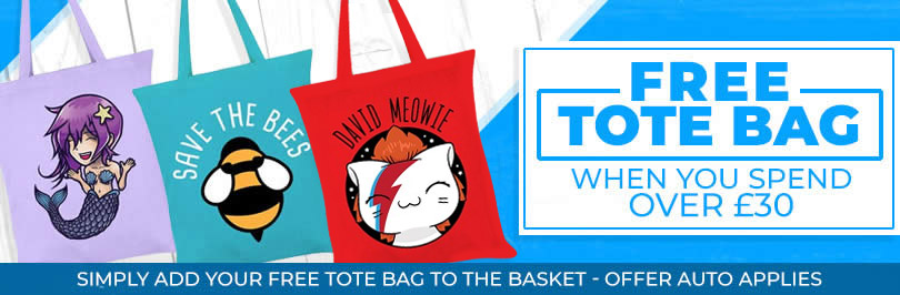 Free Tote Bag When You Spend £30 Or More