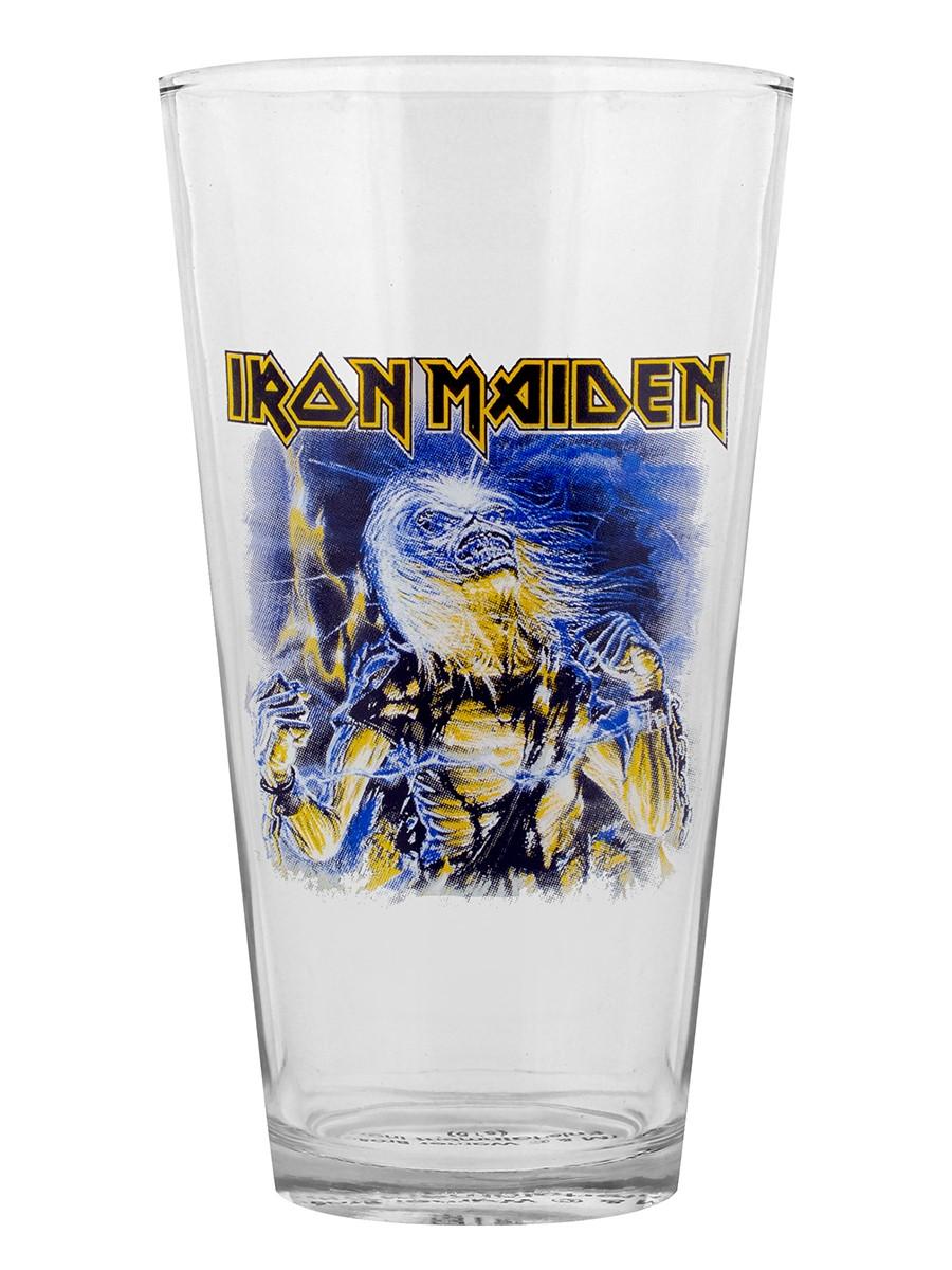 Iron Maiden Verre Live After Death