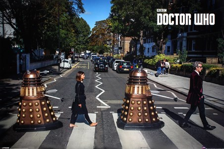 Abbey Road Doctor Who Poster 915cm X 61cm 36 24