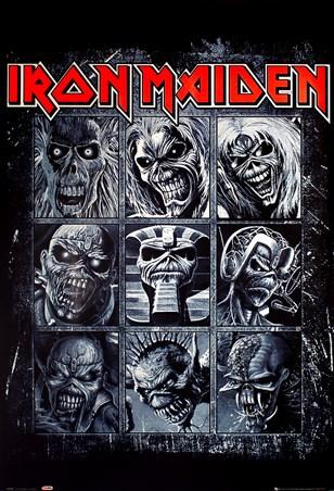 Nine Eddies Iron Maiden Poster Buy Online