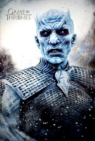 Night King, Game Of Thrones Poster - Buy Online