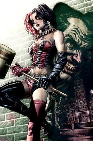 Harley Quinn Joker Shadow - Batman DC Comics 8464d23393