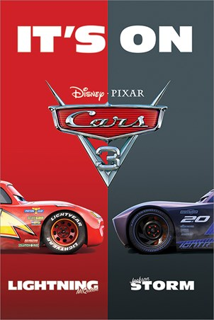 It S On Cars 3 Poster Buy Online