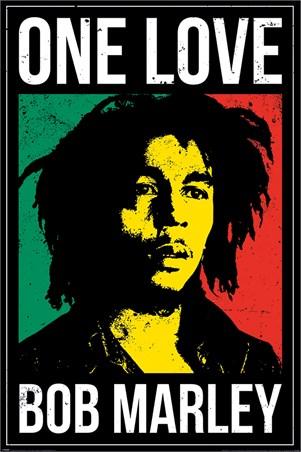 One Love Bob Marley Poster Buy Online