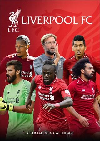 Liverpool FC 2020 Calendar Square Poster Wall Calendar OFFICIAL MERCHANDISE