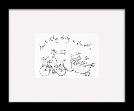 don/'t Dilly Dally Sketch Sam Toft