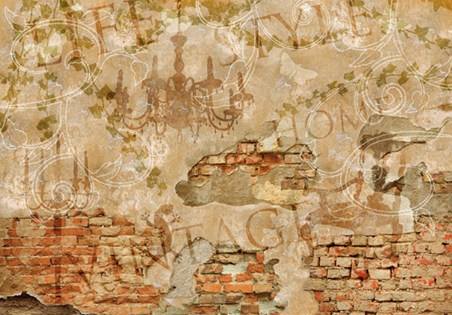 Vintage Wall, Sublime Style Wall Mural - Buy Online