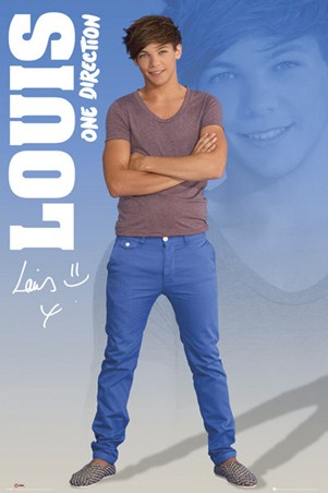 Louis Maxi Poster 61cm x 91.5cm One Direction new /& sealed