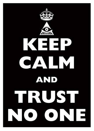 keep calm trust no one keep calm carry on mini poster popartuk
