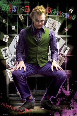 Heath Ledger As The Joker Why So Serious