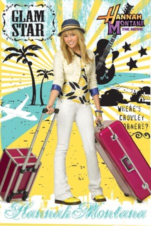 glam star hannah montana the movie poster buy online