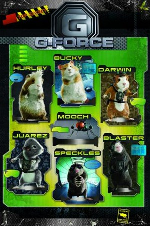 Top Secret G Force Poster Buy Online